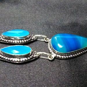 Jewelry - Botswana & Chalcedony Necklace